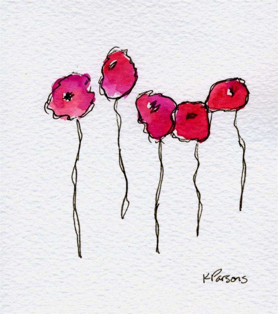 """With Stems"" original fine art by Kali Parsons"