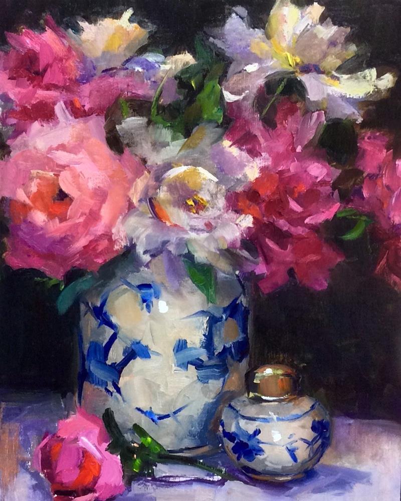 """Spring Eye Candy"" original fine art by Laurie Johnson Lepkowska"