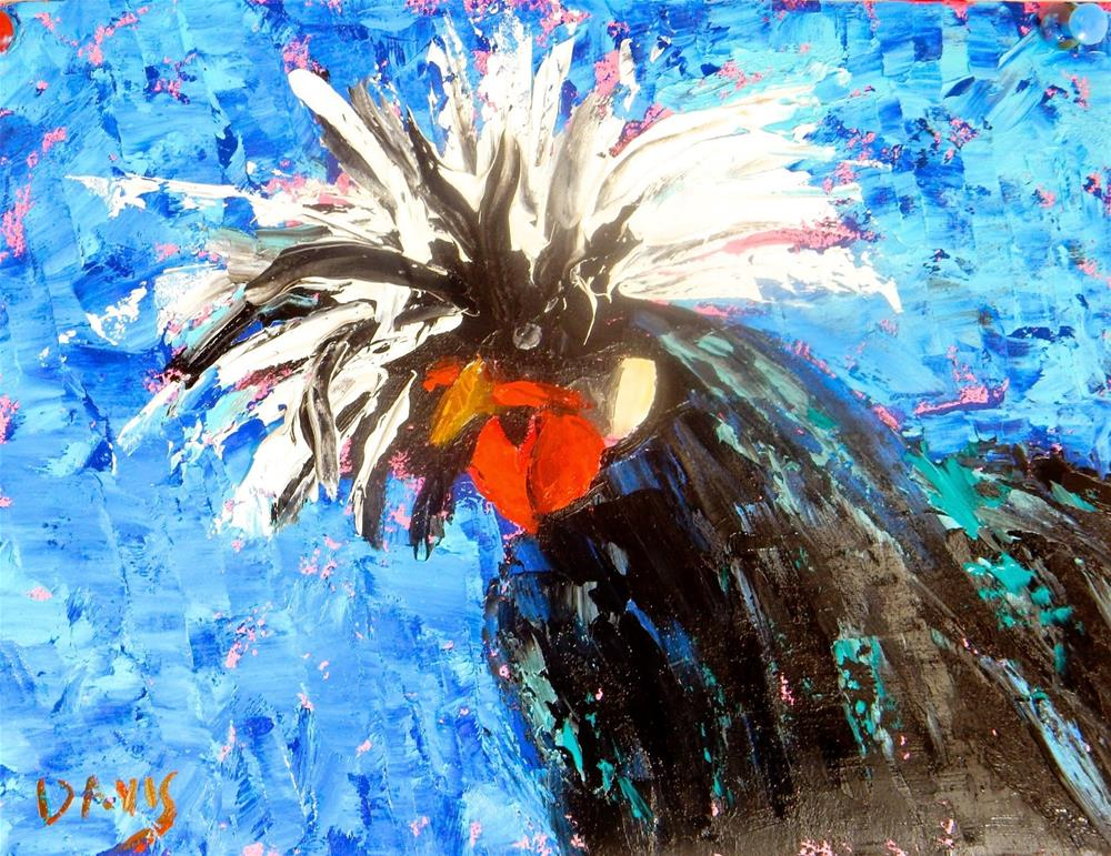 """Where's My Comb?"" original fine art by Phyllis Davis"