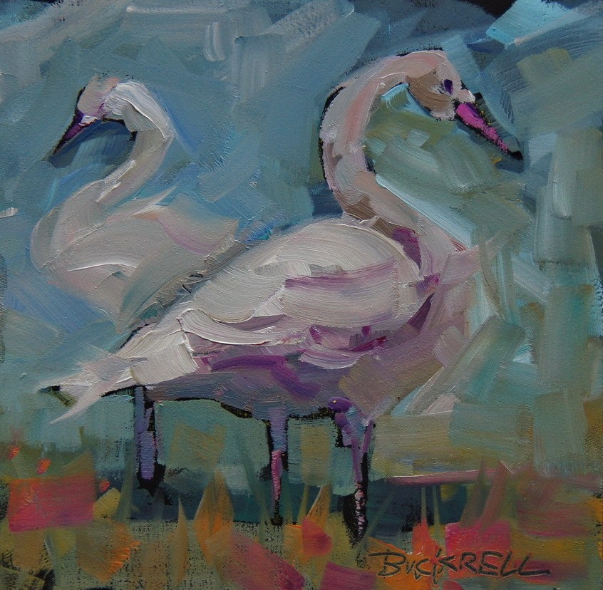 """Two of a Kind"" original fine art by Brian Buckrell"