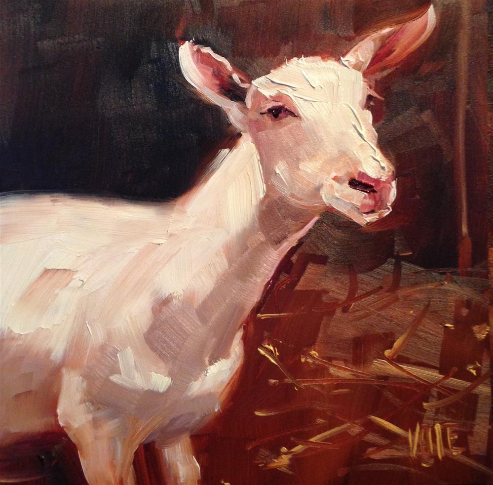 """#246 Ludwig"" original fine art by Patty Voje"