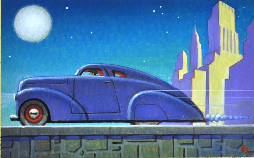 """Late Shift"" original fine art by Robert LaDuke"