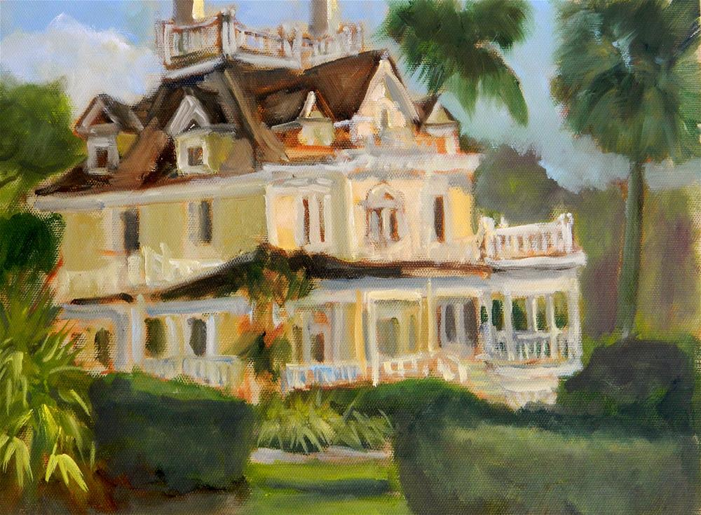 """The Burroughs Mansion"" original fine art by Sharon Yarbrough"
