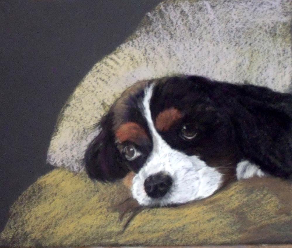"""Just Thinking"" original fine art by Nelvia McGrath"