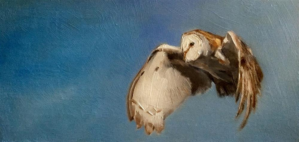 """On Silent Wings"" original fine art by Gary Bruton"
