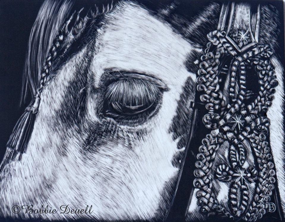 """""""#16"""" original fine art by Bobbie Deuell"""