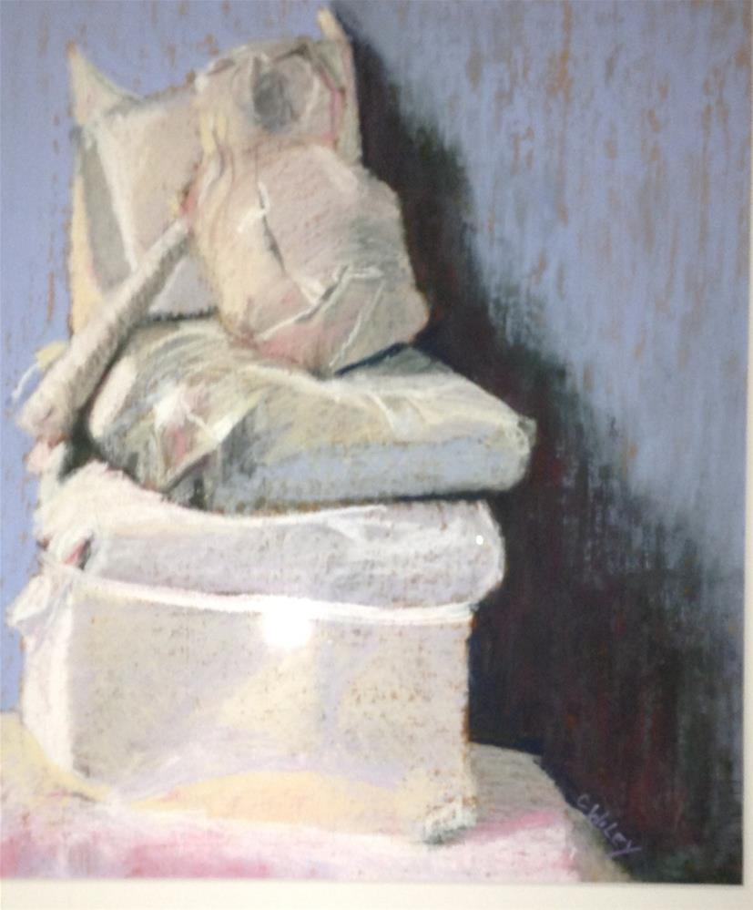 """Still Life in White"" original fine art by Carol Wiley"