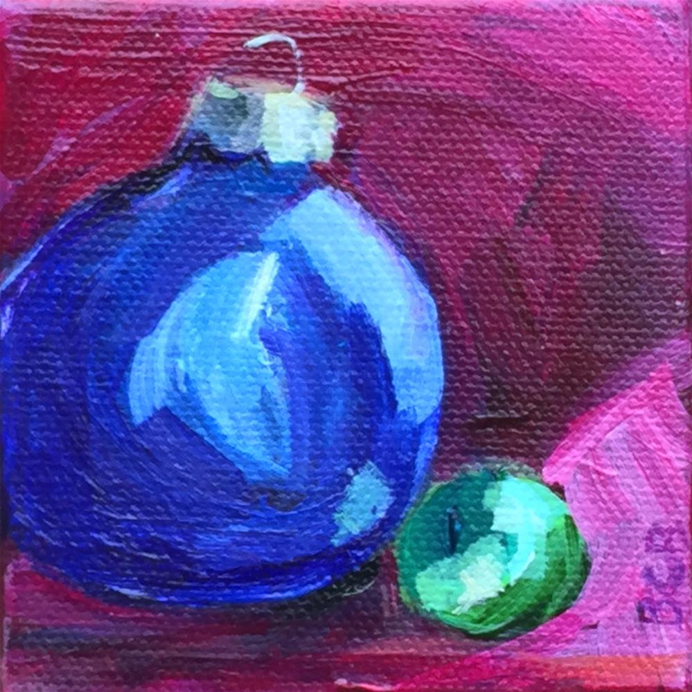 """Christmas Ornament 3"" original fine art by Beth Carrington Brown"