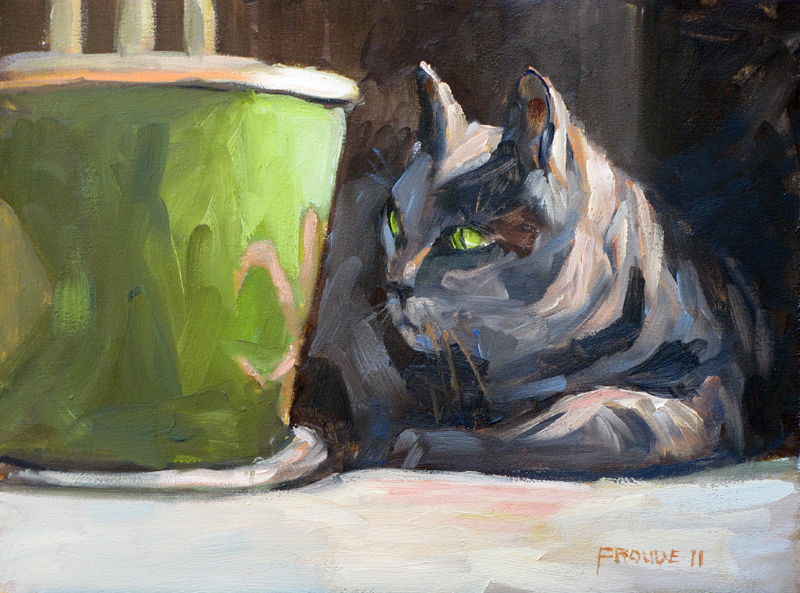 """Focused Morning"" original fine art by Dave Froude"