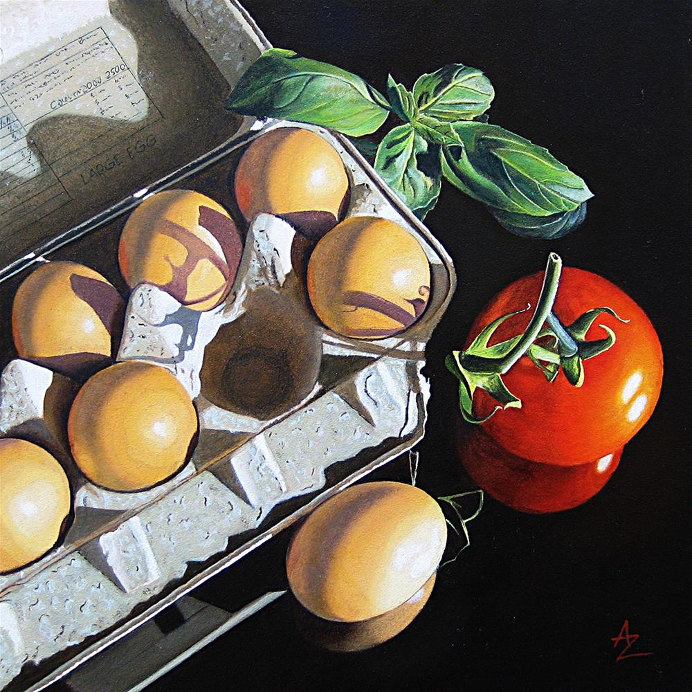 """Six and a half"" original fine art by Alex Zonis"