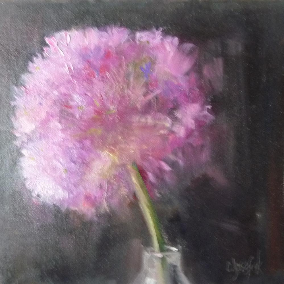 """Allium"" original fine art by Carol Josefiak"