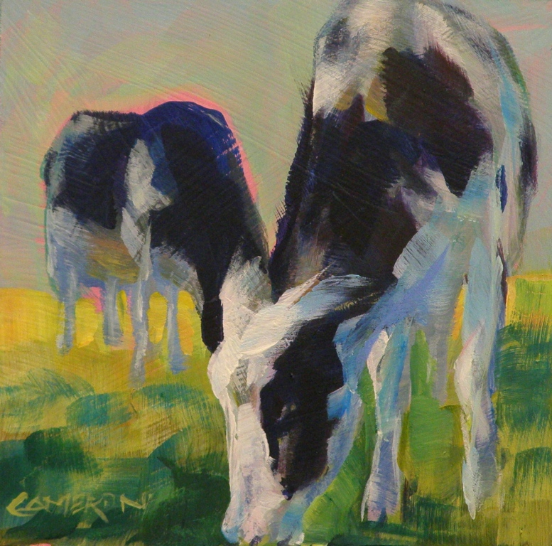 """Cow Spotting"" original fine art by Brian Cameron"
