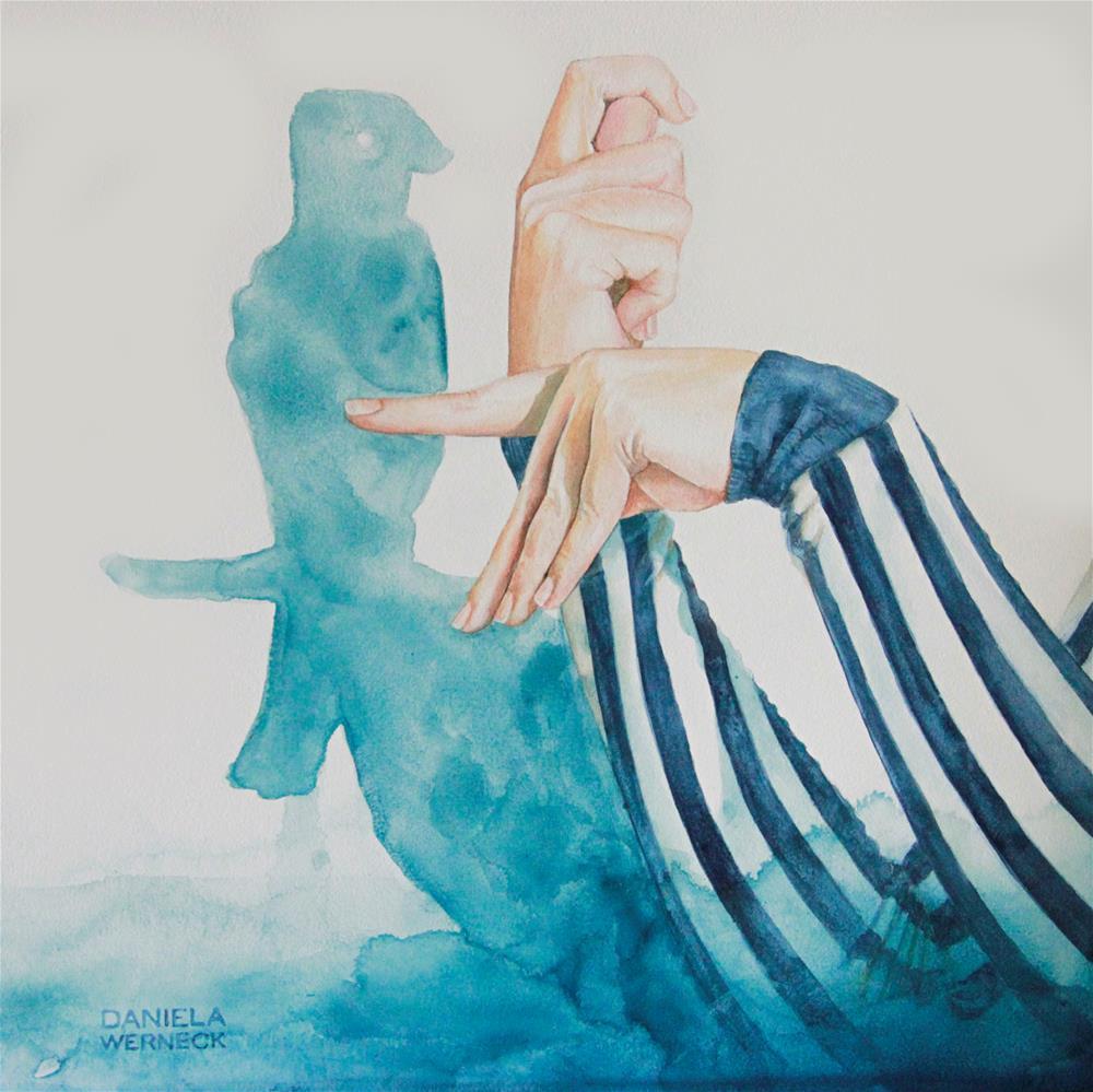 """The Shadow of a Bird"" original fine art by Daniela Werneck"