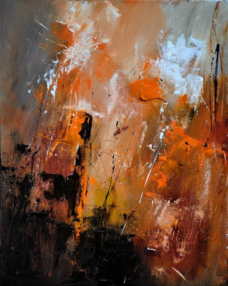 """Abstract 454101"" original fine art by Pol Ledent"