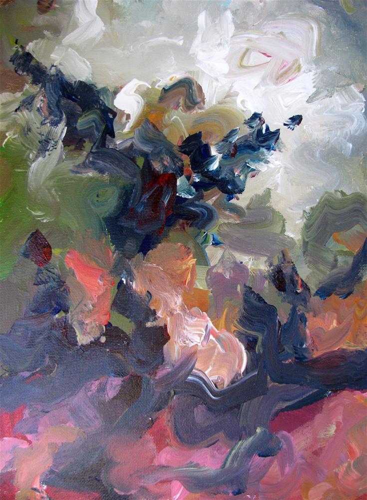 """abstract"" original fine art by Susan Elizabeth Jones"