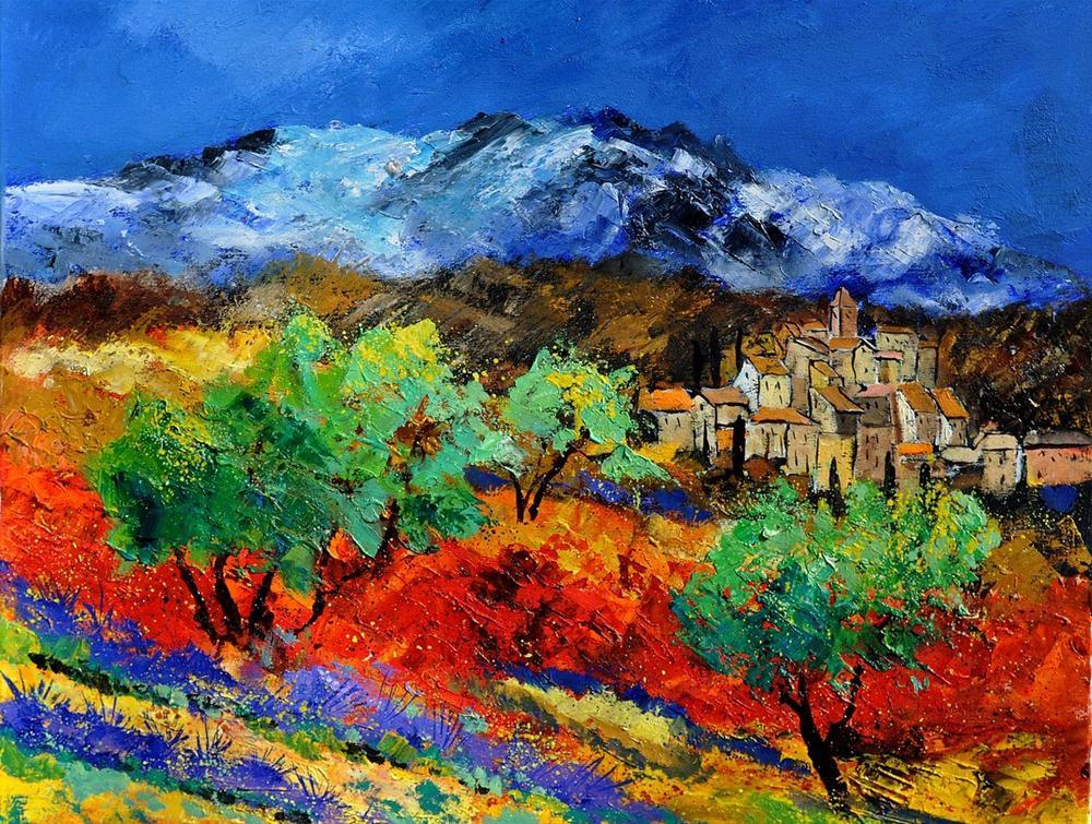 """provence 7911550"" original fine art by Pol Ledent"