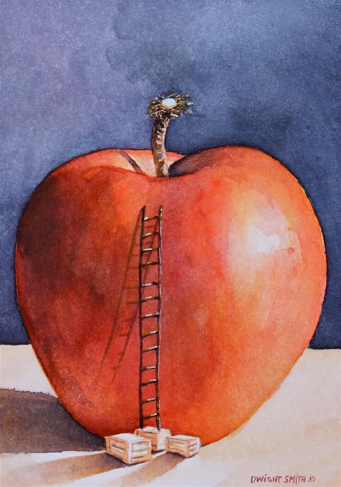 """ EXCEEDINGLY MORE "" original fine art by Dwight Smith"
