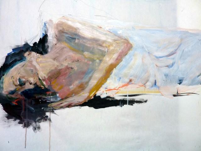 """""""Pina Bausch - Dance"""" original fine art by Mila Plaickner"""