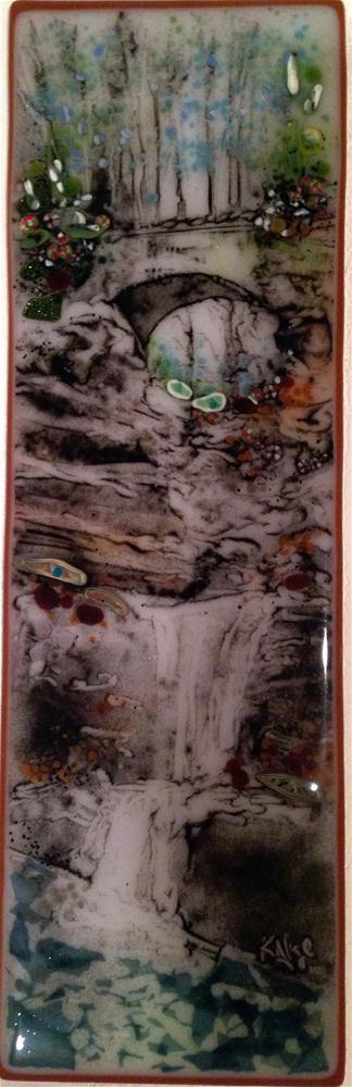 """Old Man's Cave, Hocking Hills"" original fine art by Kelly Alge"
