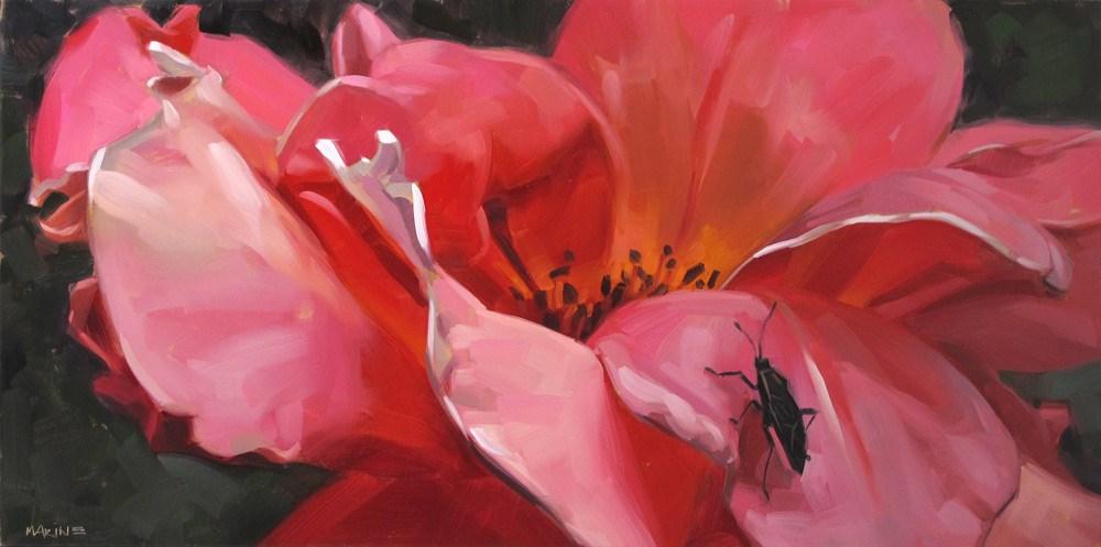 """You're Bugging Me"" original fine art by Carol Marine"