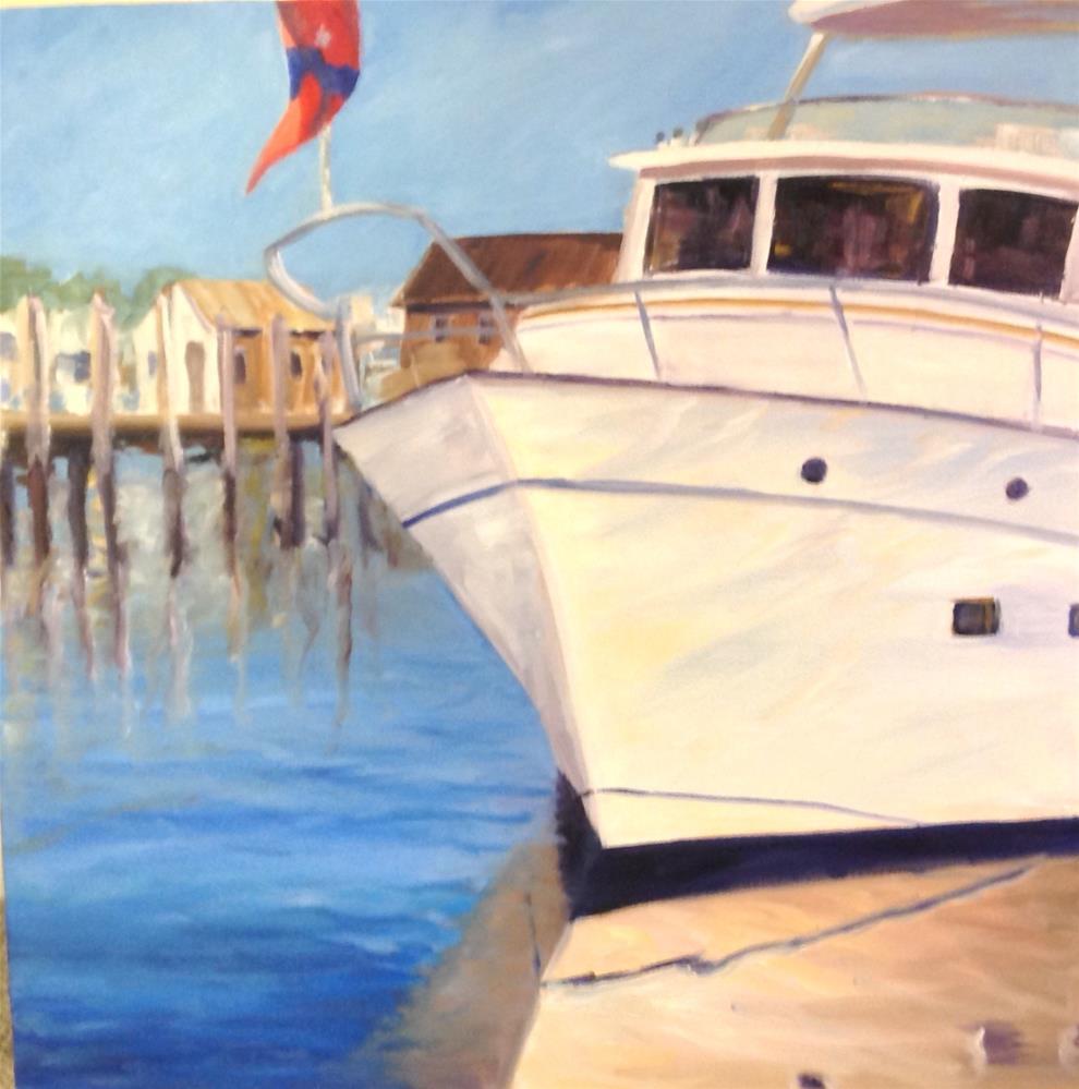 """""""Yachting Life"""" original fine art by Debra Kennedy"""
