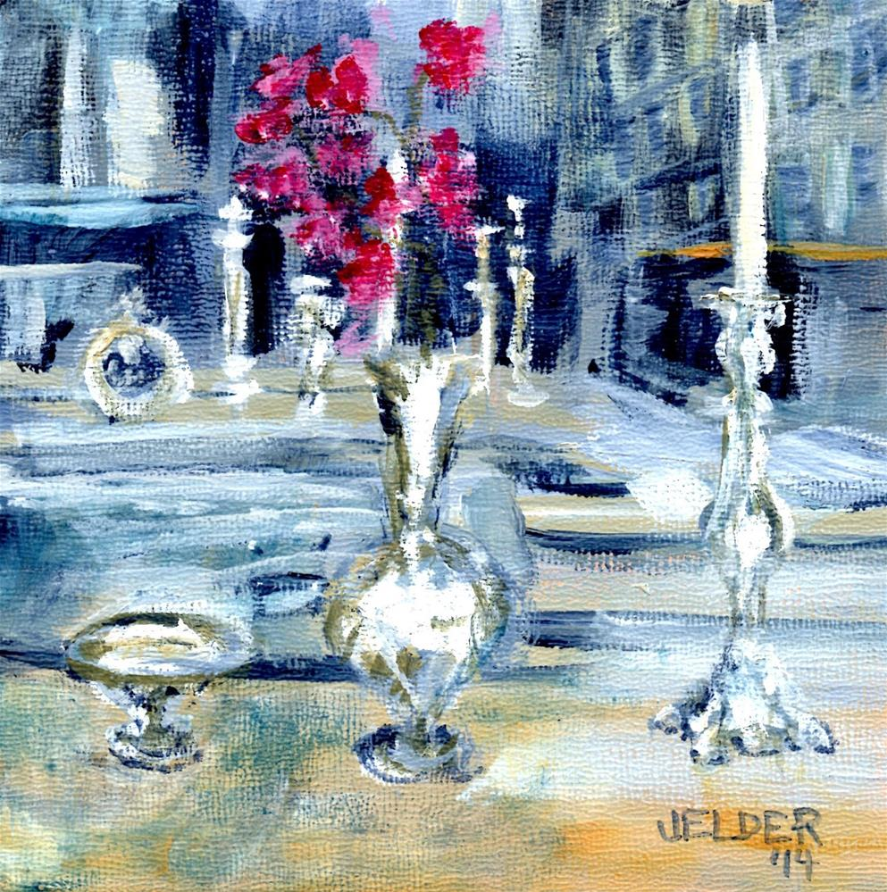 """Paris No. 20"" original fine art by Judith Elder"
