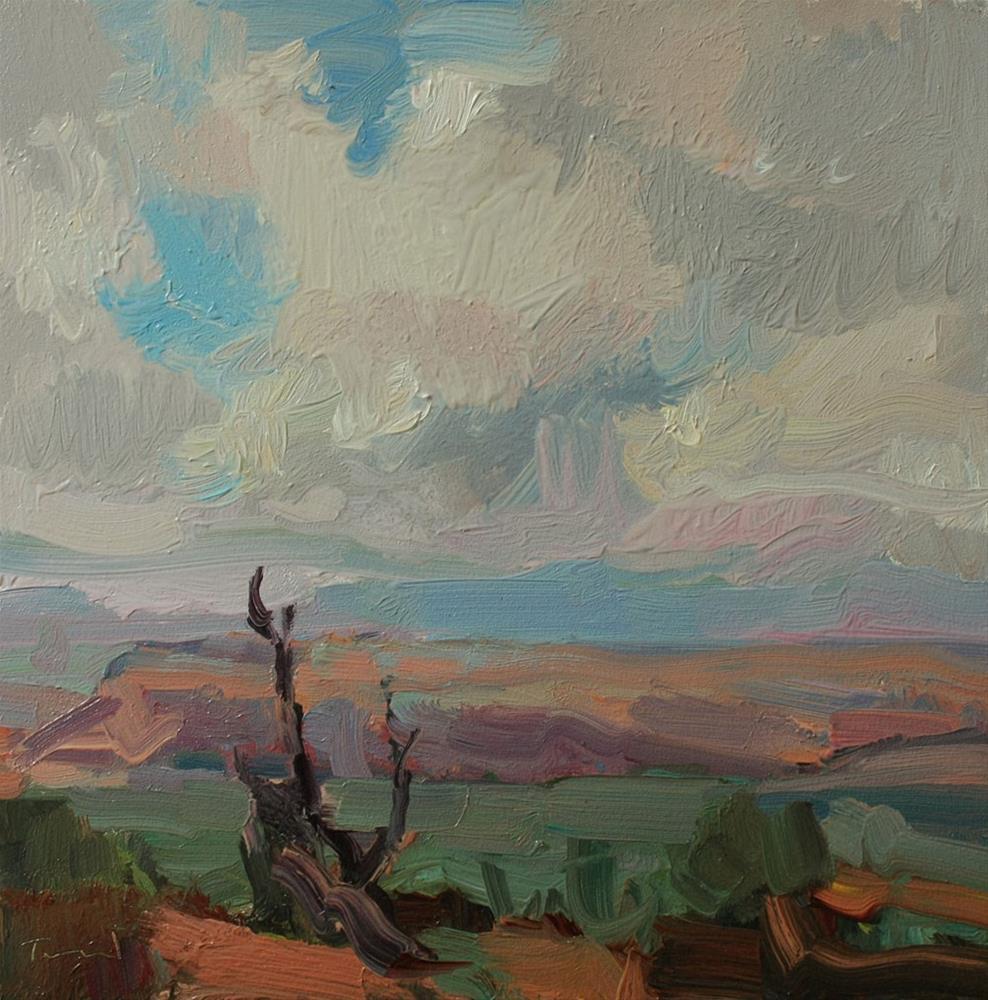 """Canyonlands Sky"" original fine art by Kathryn Townsend"