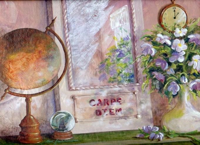 """""""Seize the Day"""" original fine art by Sue Furrow"""
