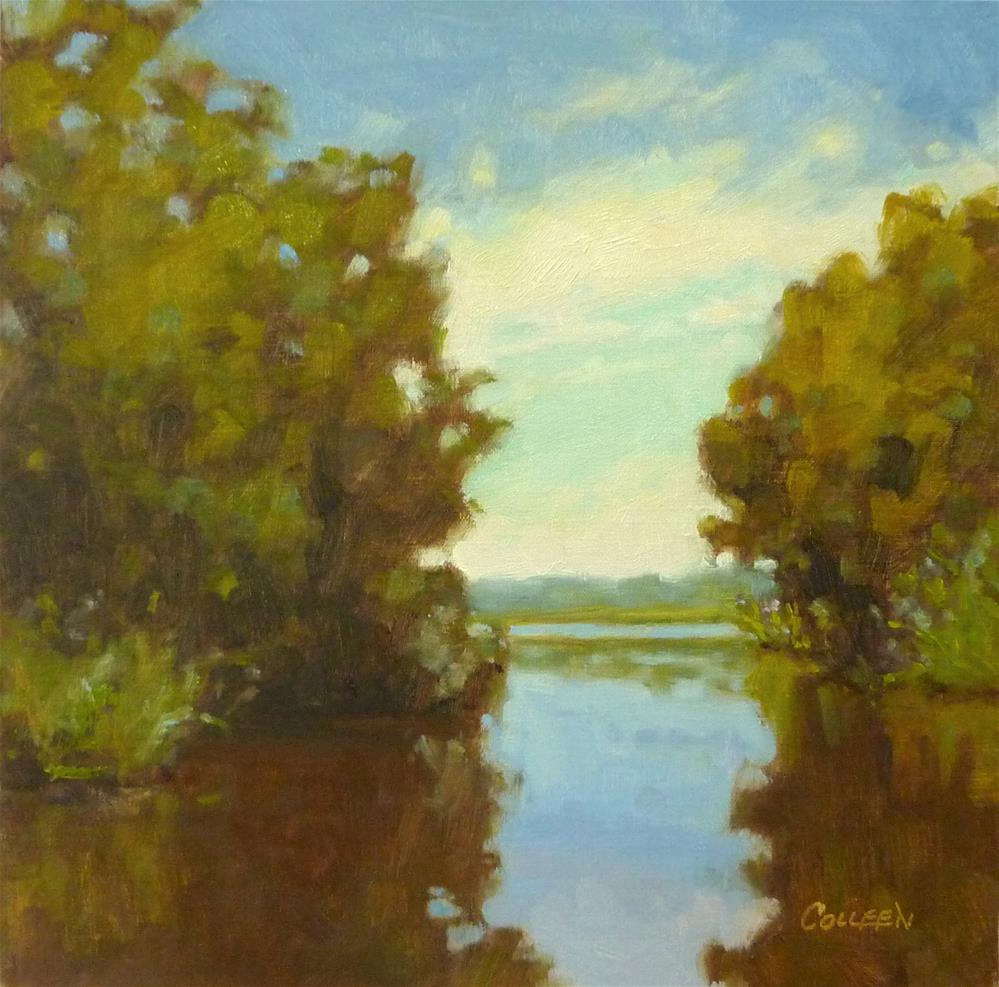 """Afternoon Reflections"" original fine art by Colleen Parker"