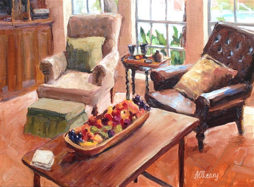 """Melba's Place"" original fine art by Alice O'Leary"