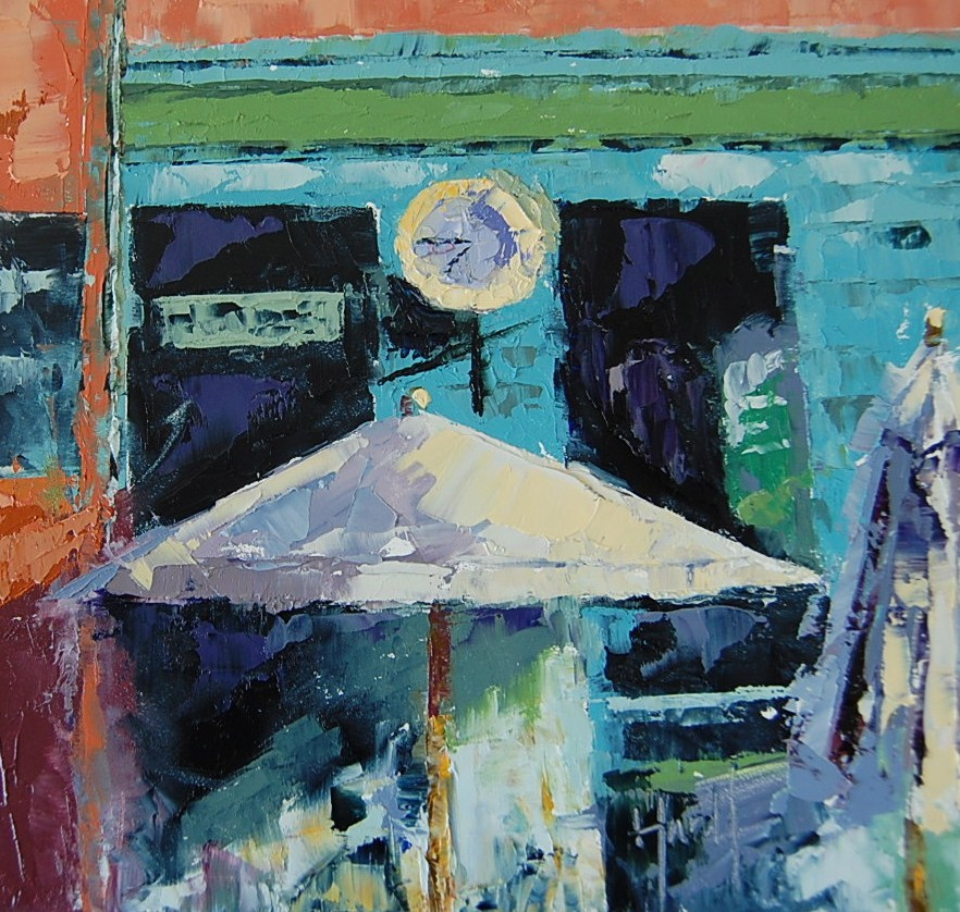 """Time"" original fine art by Deborah Harold"