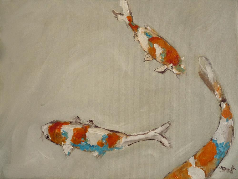 """koi"" original fine art by Claudia Brandt"