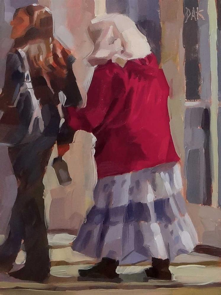 """Crown Of Glory"" original fine art by Deborah Ann Kirkeeide"