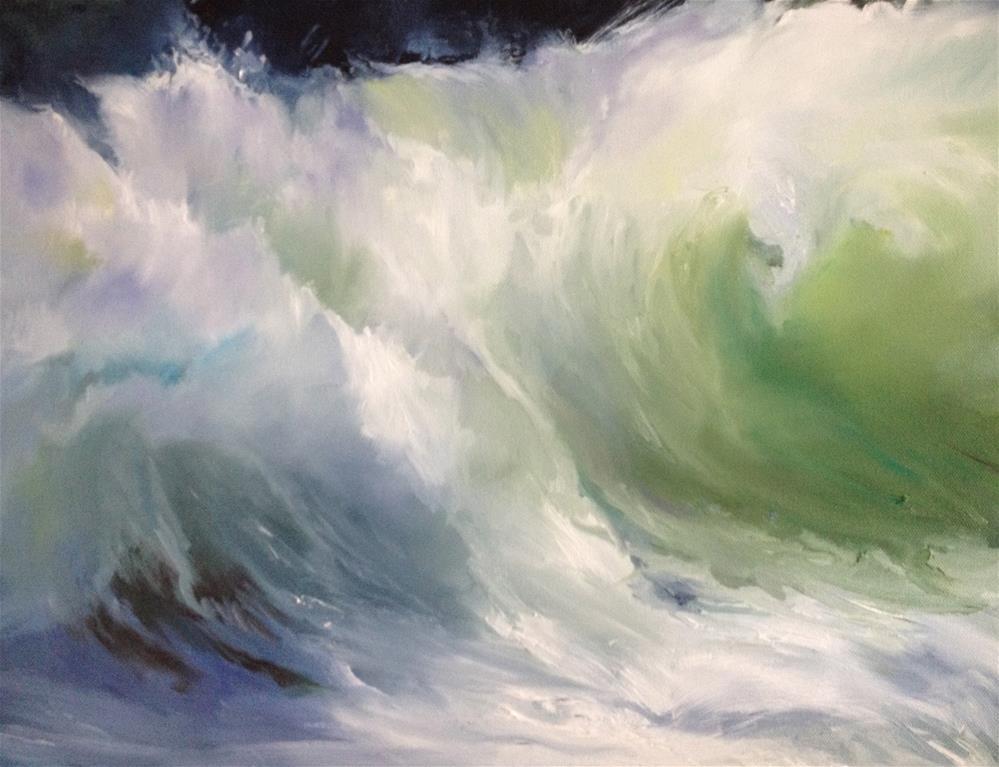 """Waves"" original fine art by Nancy Lajeunesse"