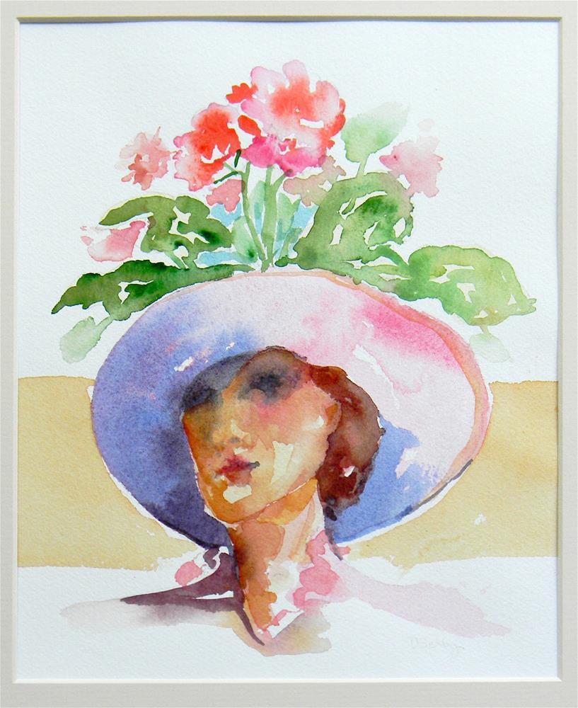 """Pot Head"" original fine art by De Selby"