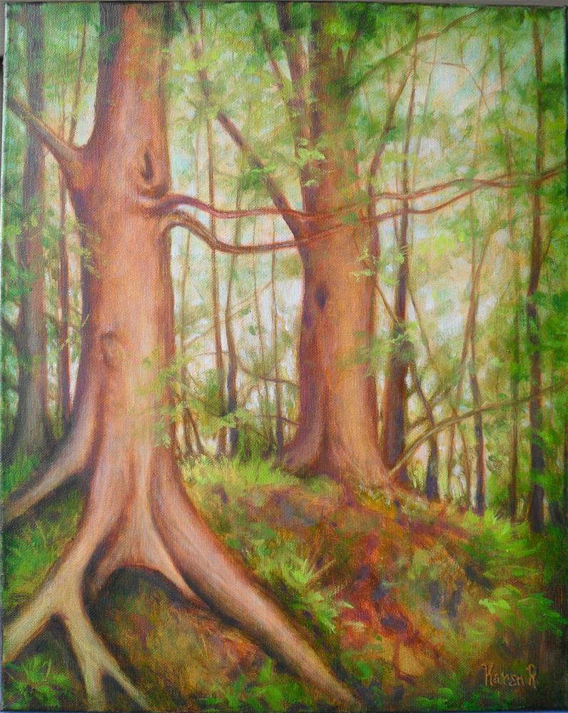 """Michigan Spring"" original fine art by Karen Roncari"