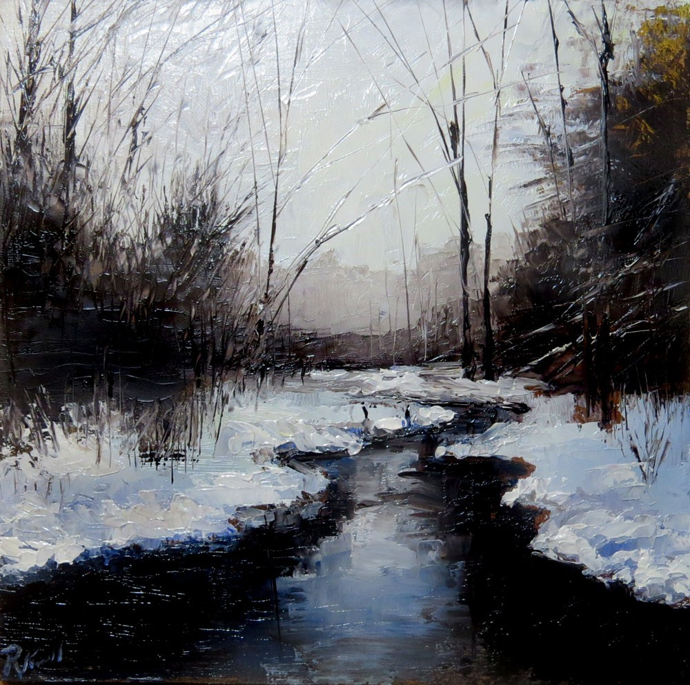"""Winters Last Stand"" original fine art by Bob Kimball"