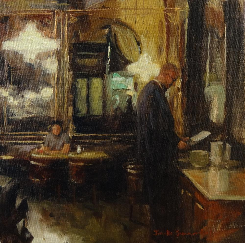 """Cafe Schwarzenberg"" original fine art by Jonelle Summerfield"
