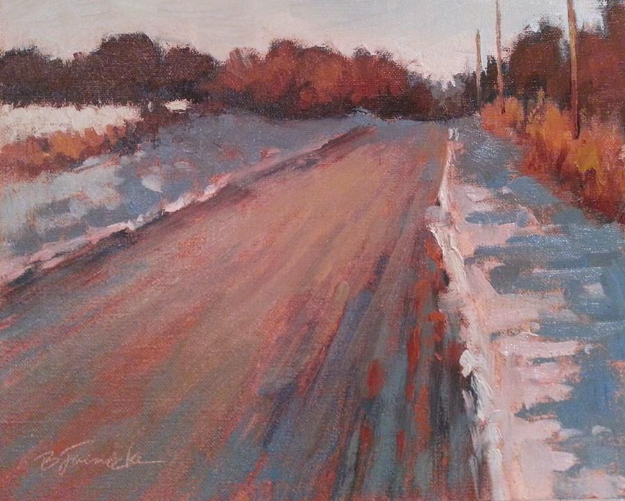 """Onward"" original fine art by Barbara Jaenicke"