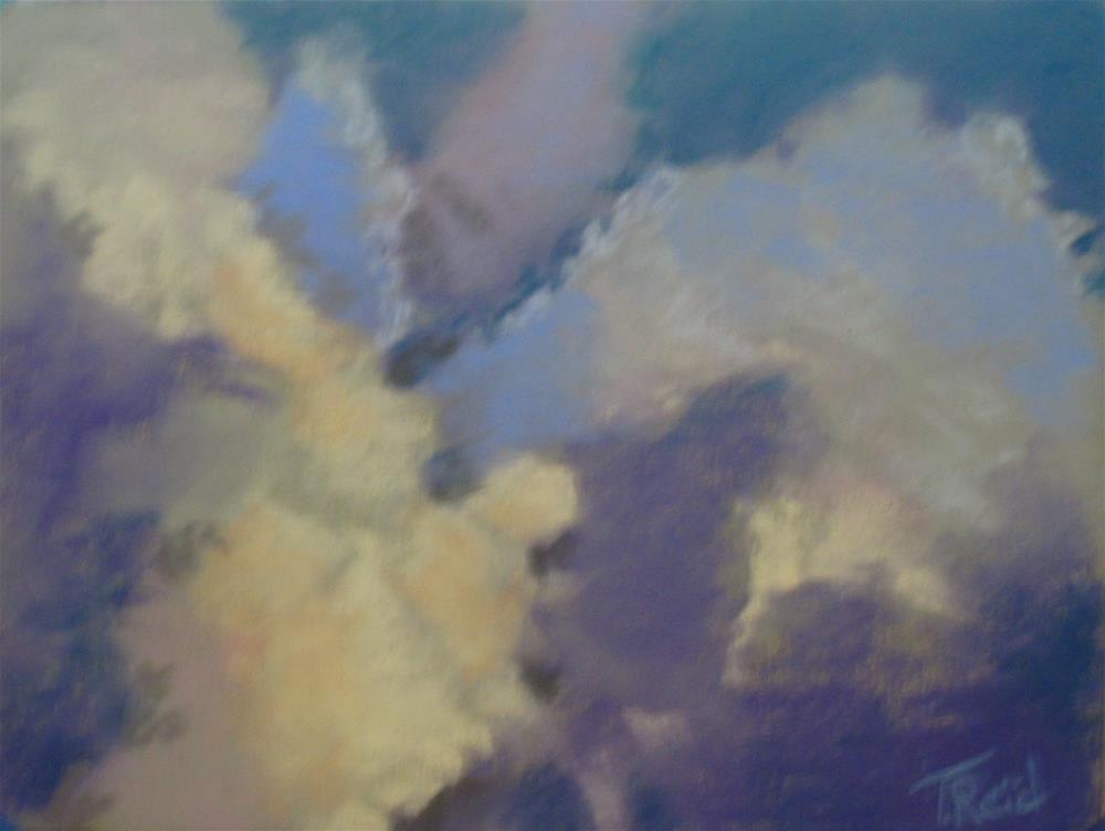 """Clouds #9"" original fine art by Toby Reid"