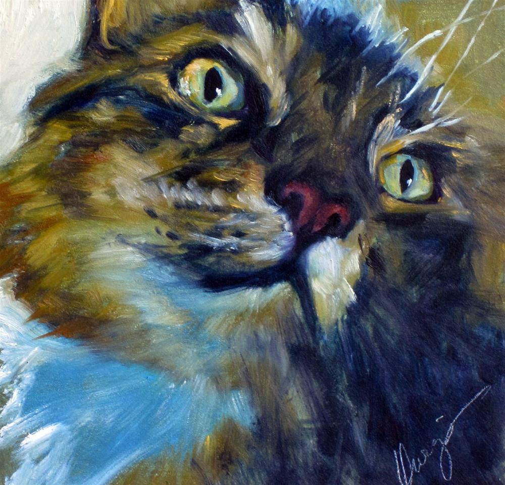 """Seriously?"" original fine art by Sharman Owings"