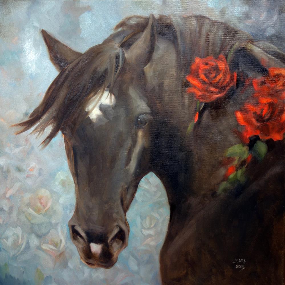 """Diva"" original fine art by Elaine Juska Joseph"
