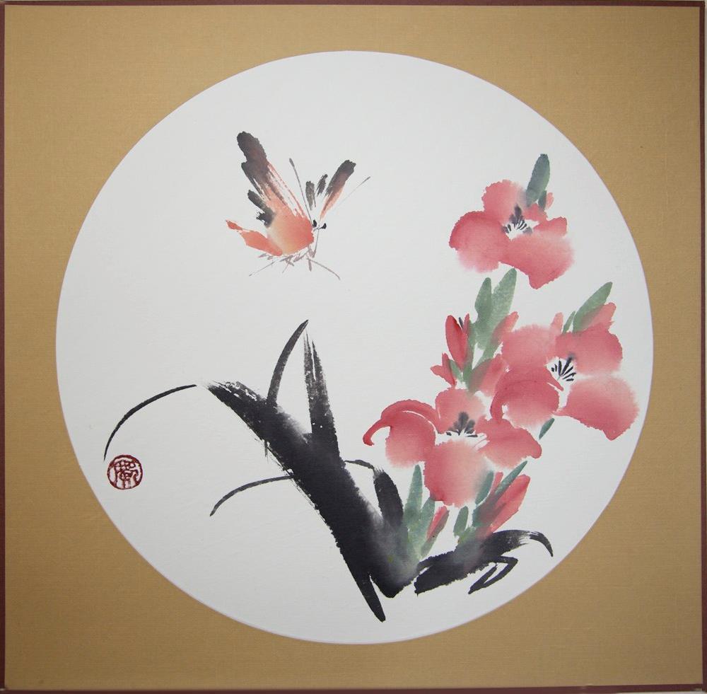 """Gladiolus"" original fine art by R kwong"