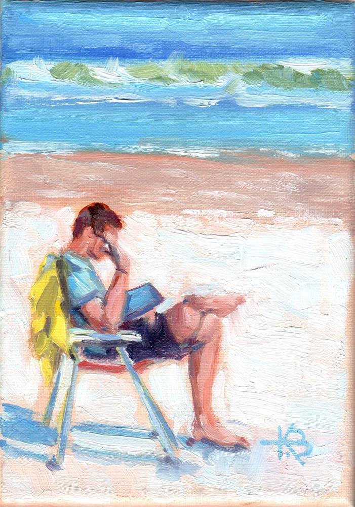 """""""Casual Friday"""" original fine art by Kathy Bodamer"""