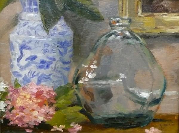 """The Glass Jar"" original fine art by Susan N Jarvis"