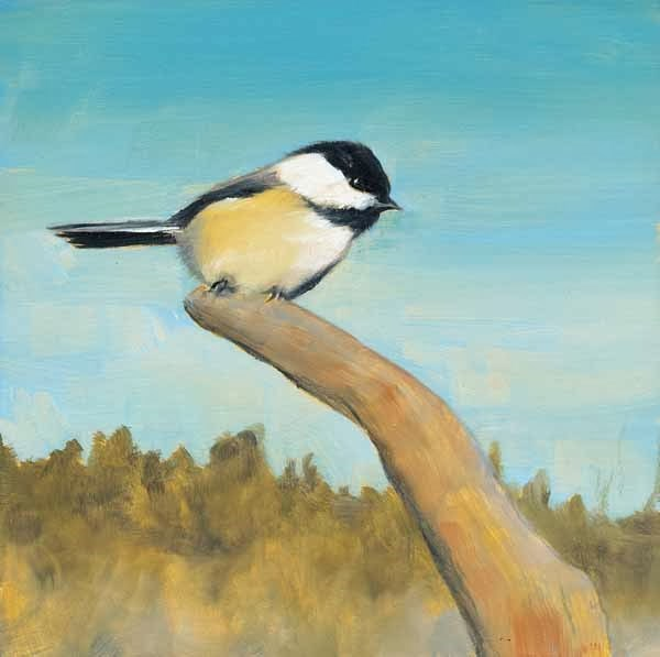 """On the Lookout"" original fine art by Brenda Ferguson"