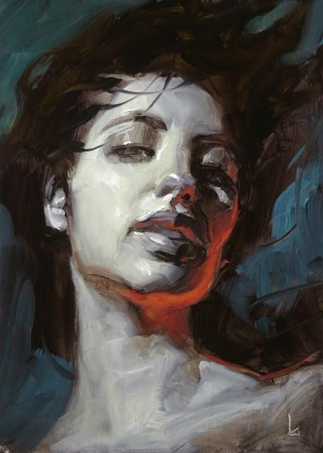 """Dark Brew"" original fine art by John Larriva"