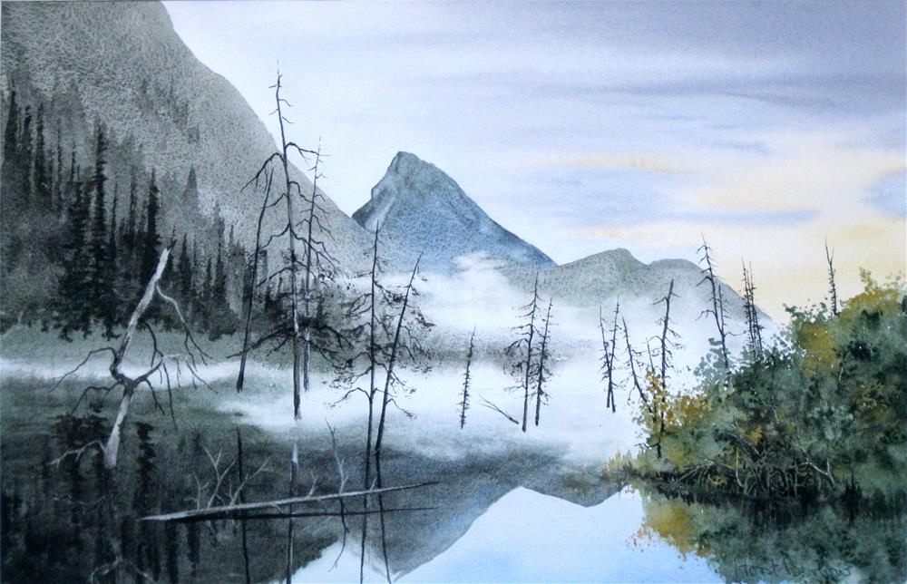 """Morning Mist"" original fine art by Horst Berlow"