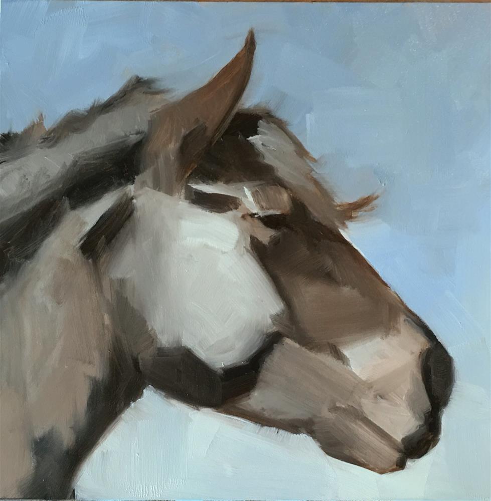 """""""Challenge - Equine"""" original fine art by Van DeGoede"""