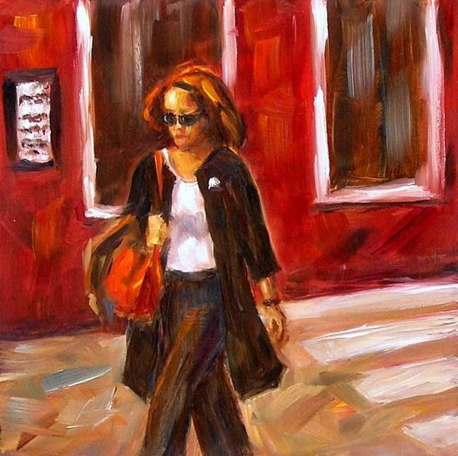 """Against the Rules"" original fine art by Irina Beskina"